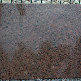 granite slab - RED