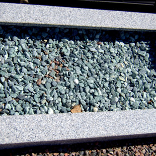 border - grey granite
