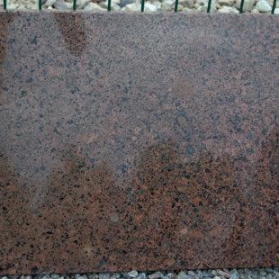 granite slab - RED