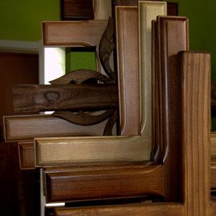 деревянные кресты - доступны различные оттенки