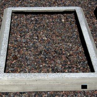 Цементный бордюр 1,5