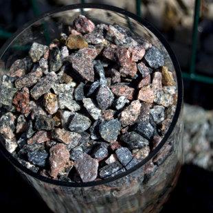 камни различного размера